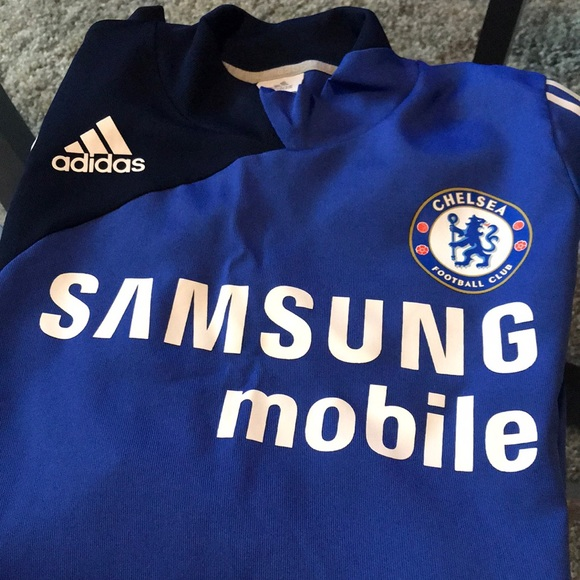 size 40 33486 3333c Chelsea FC warm up Jersey (long sleeve)
